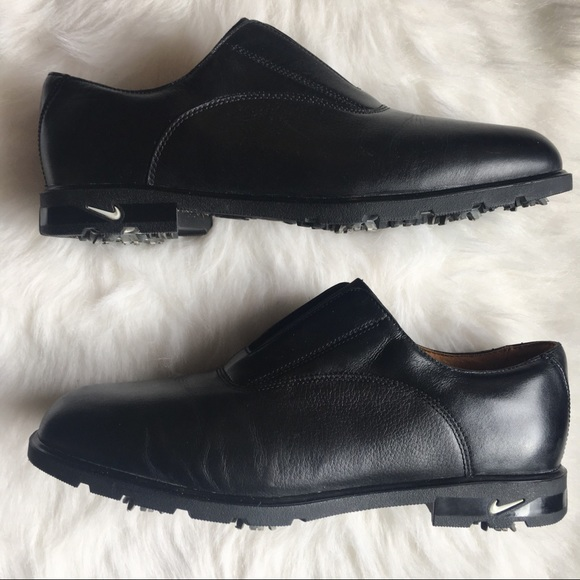 nike golf shoes leather